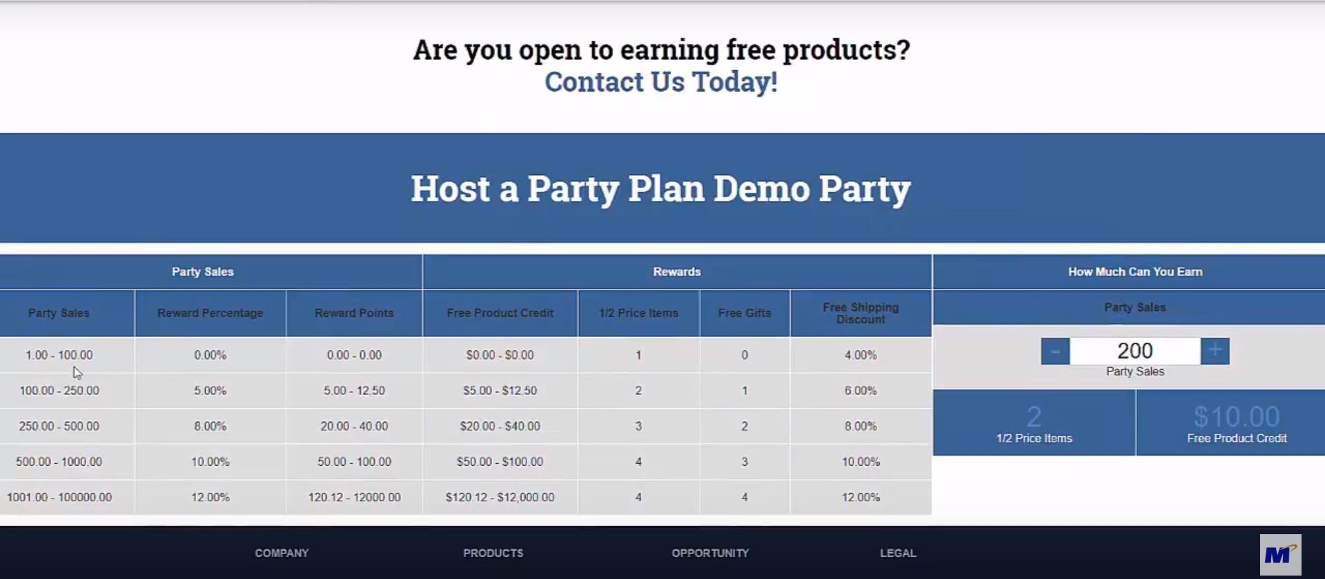 MarketPowerPRO party hosting