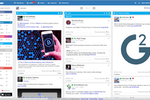 eClincher Software - Live social feeds and user profile information