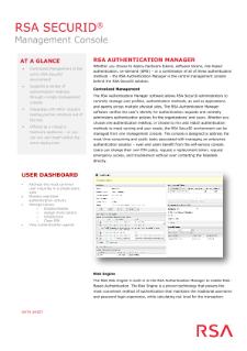 RSA SecurID Logiciel - 1