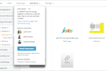 Jostle screenshot: Share files in our multimedia library.