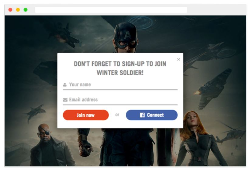 Create smart signup forms
