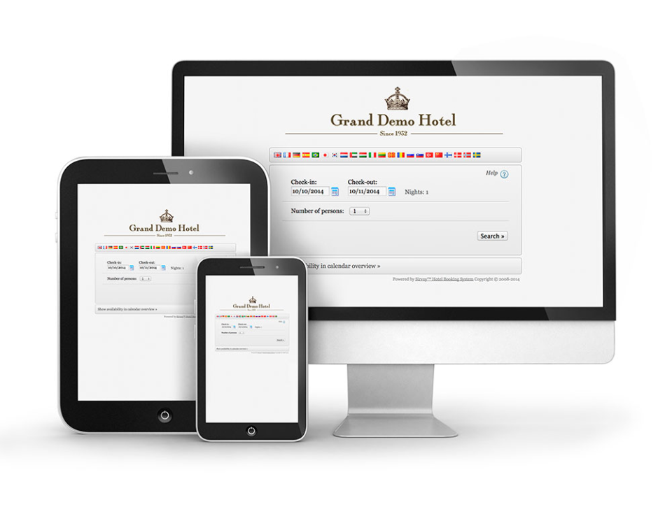 Users can access bookings from any device