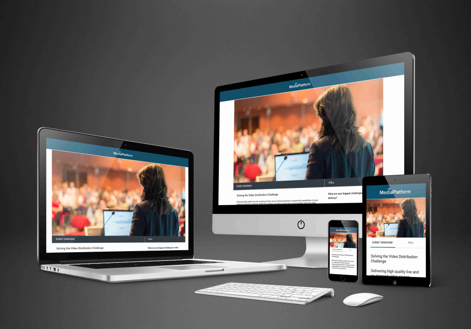 Broadcaster screenshot: Live Video to Any Device