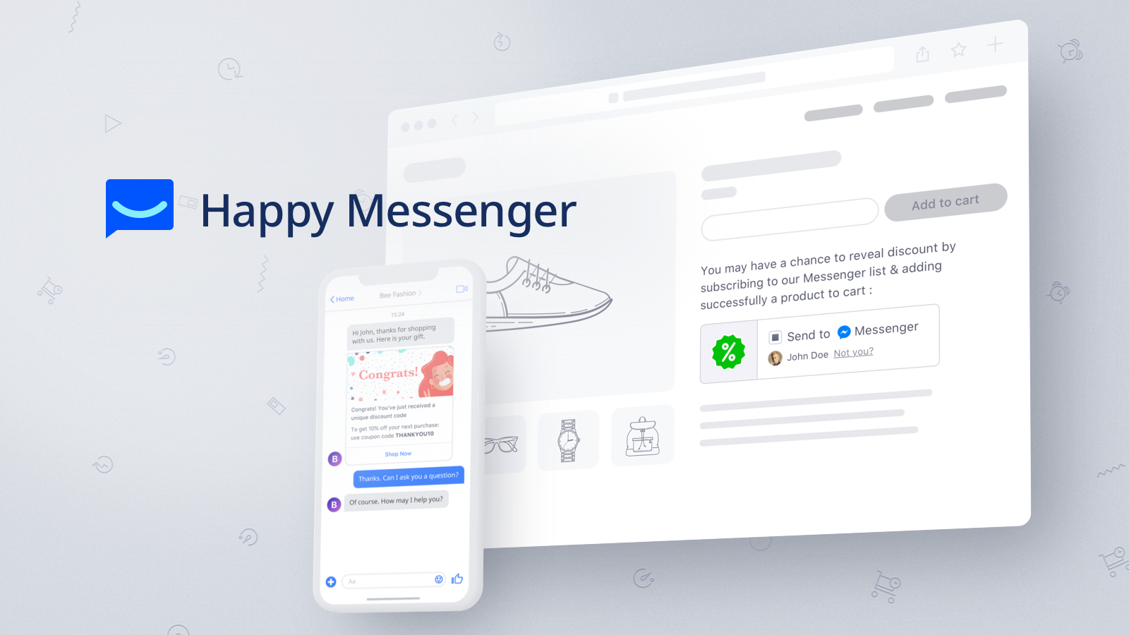 Grow sales with Messenger Marketing