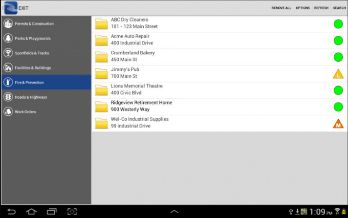CityReporter issue tracking screenshot