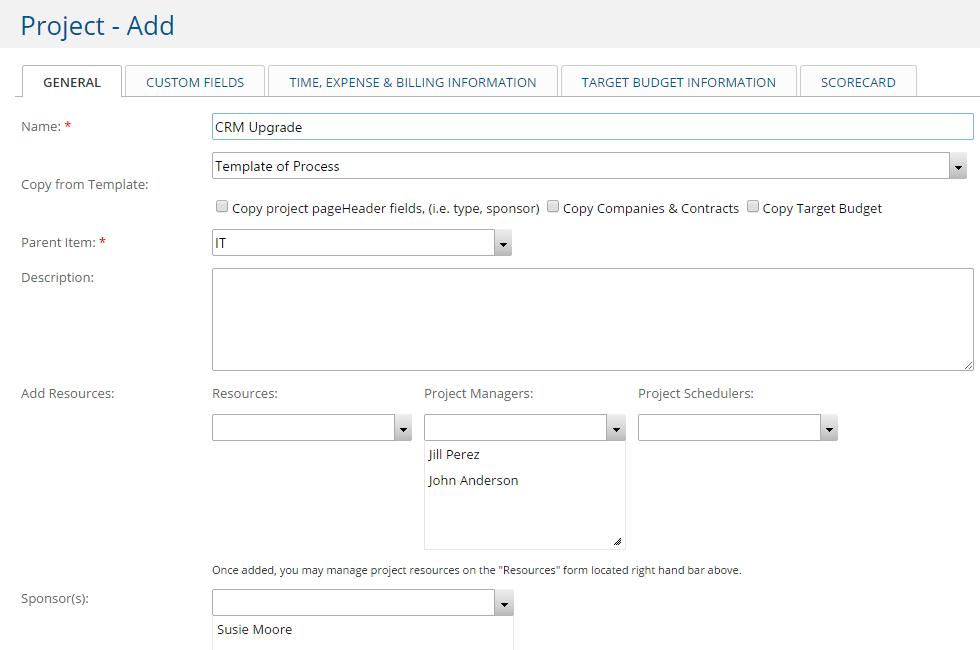 Convert Project Request