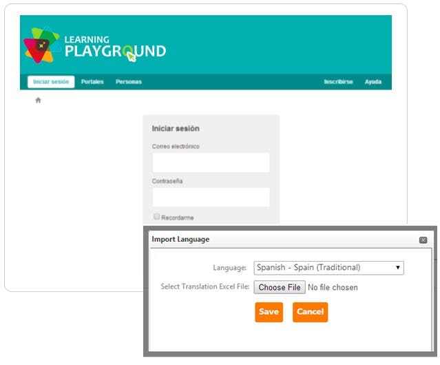 Instancy Learning Management System Software - Instancy site localization