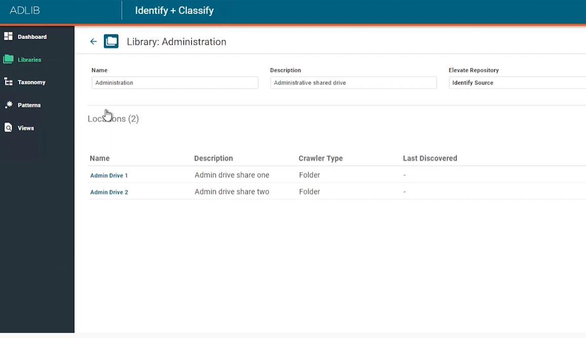 Adlib screenshot: Adlib libraries