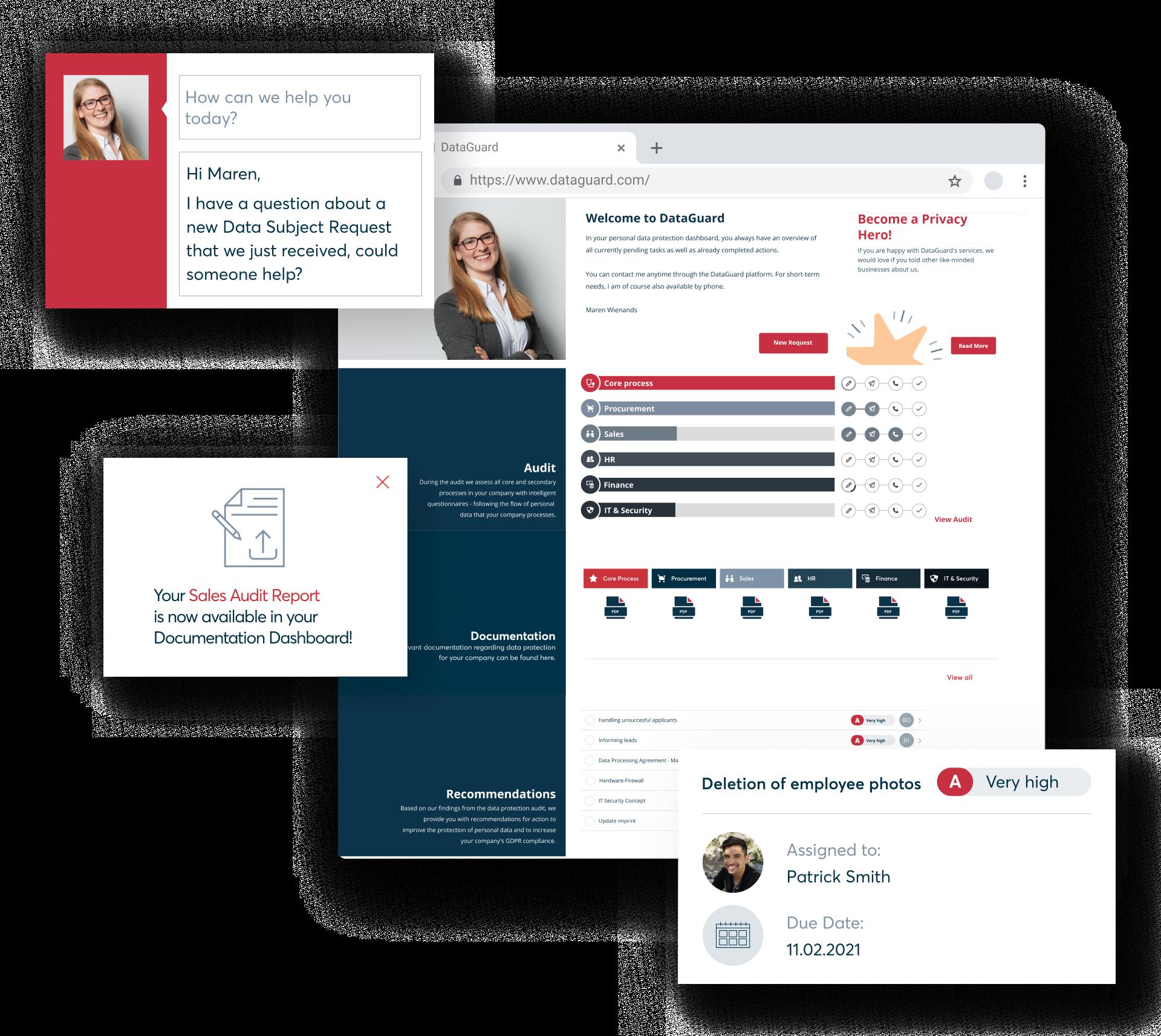 DataGuard's proprietary privacy platform