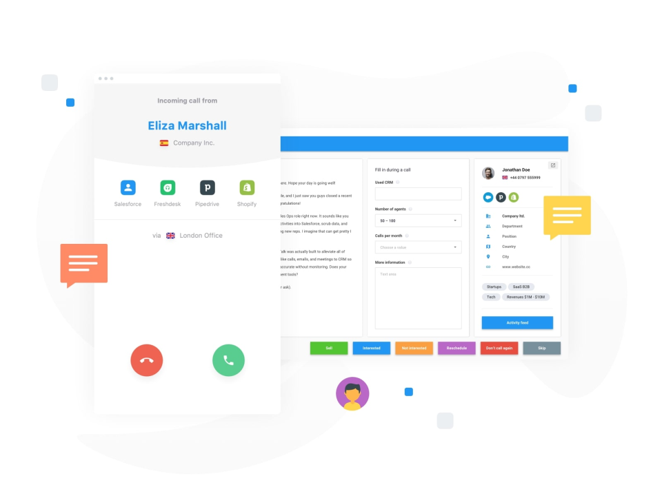 CloudTalk Software - CloudTalk incoming call