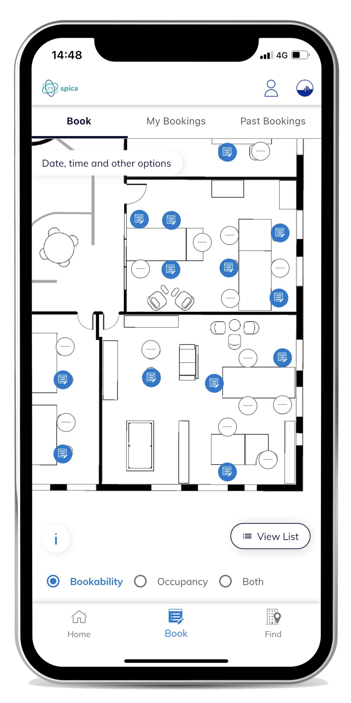 Book Module - Map View