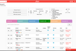 Gingr screenshot: Manage employee tasks and see real-time updates of jobs from the dashboard