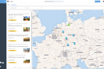 sharesuite Screenshot: The project map visualizes project information and its interrelationships.