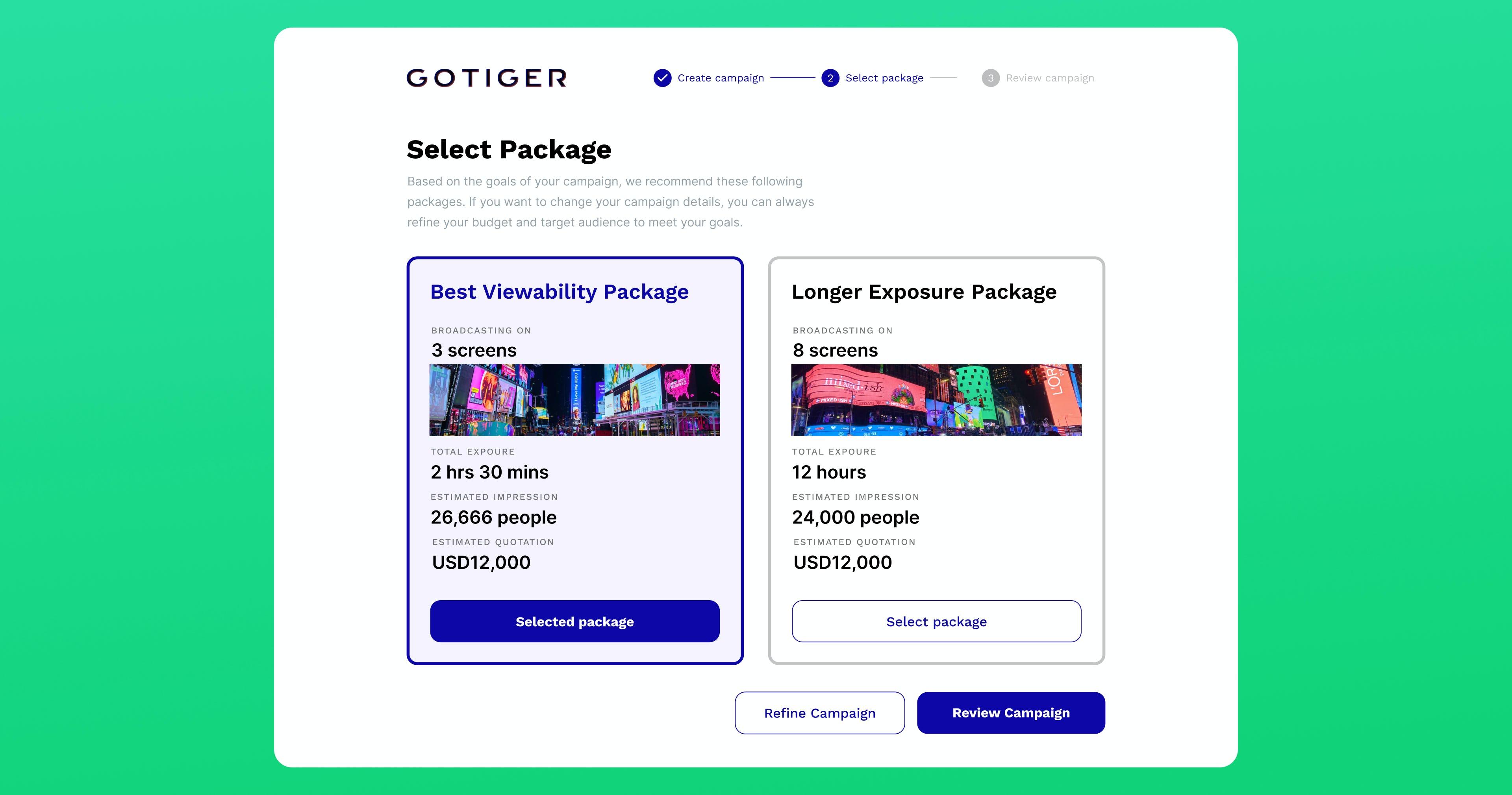 GOTIGER Logiciel - 2