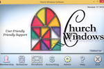 Church Windows screenshot: Church Windows allows to track memberships, donations, schedule events and manage accounting