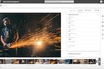 4ALLPORTAL DAM screenshot: Specify metadata and keywords when uploading each asset