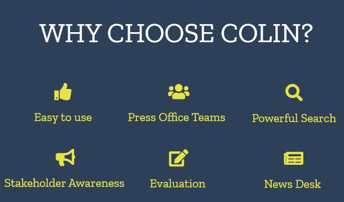 COLIN Software - Why choose COLIN