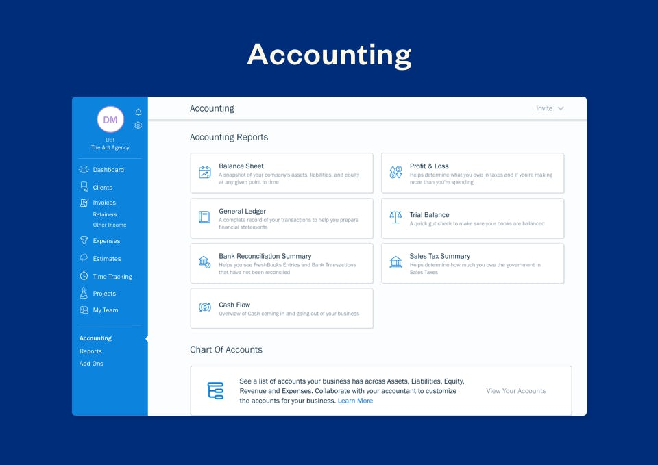 FreshBooks Software - FreshBooks accounting