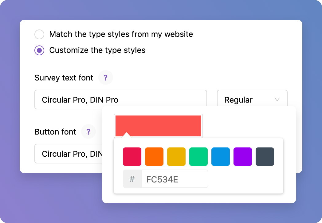 Iterate - use custom branding