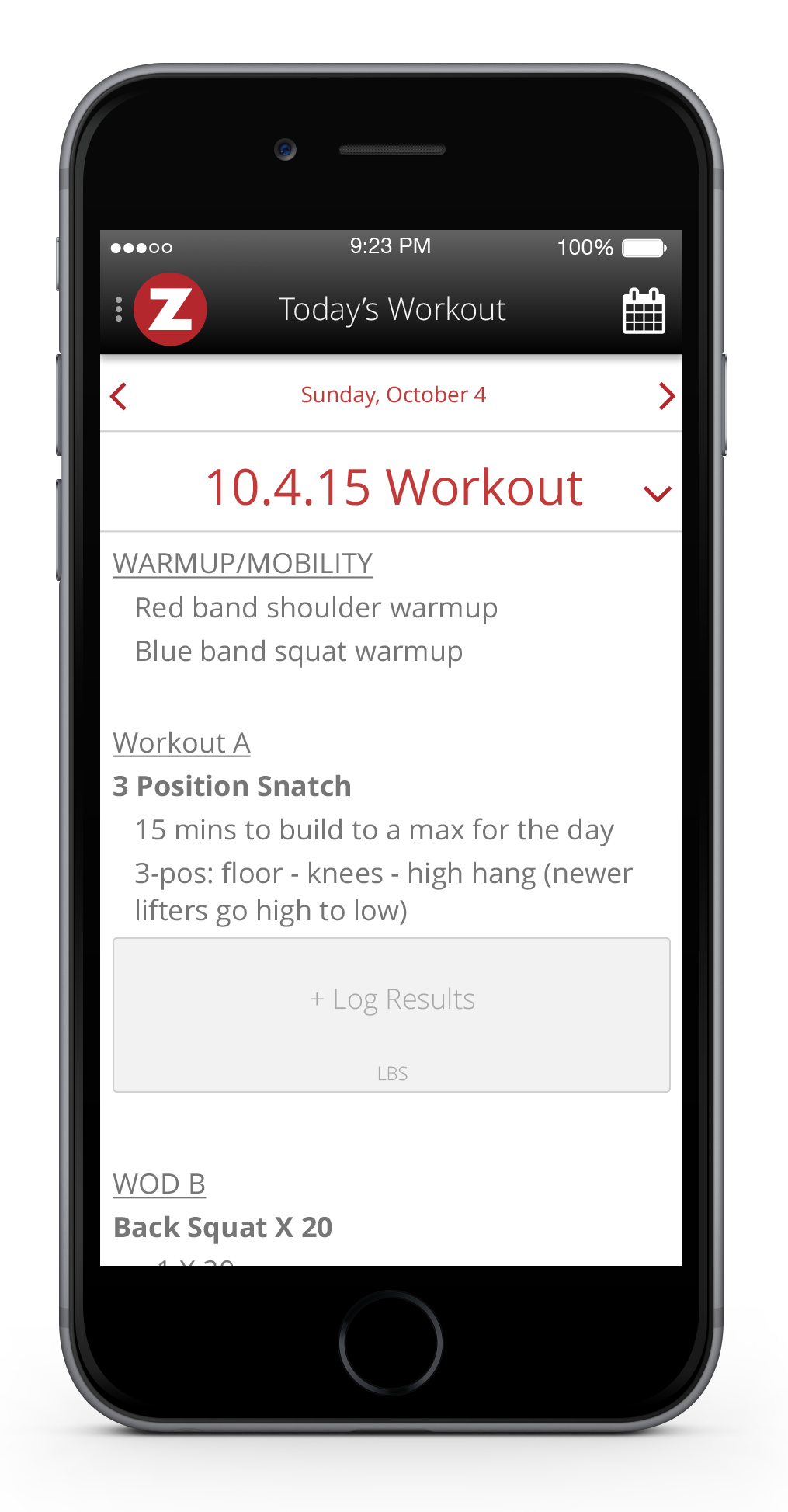 Engage your community and increase accountability with in-app Advanced Workout Tracking features. Members can quickly check the day's workout, log their results and view your community leaderboard conveniently from their mobile device.
