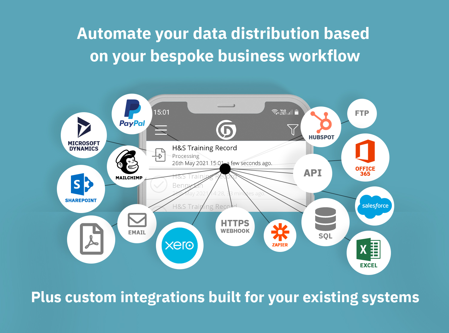 Automate your data distribution based on your bespoke business workflow