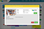 BIStrainer screenshot: BIStrainer session details