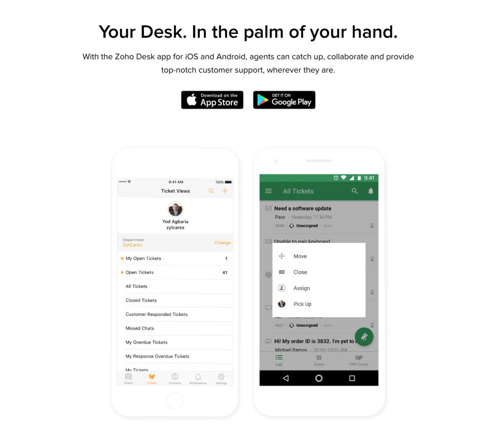 Zoho Desk Software - 1