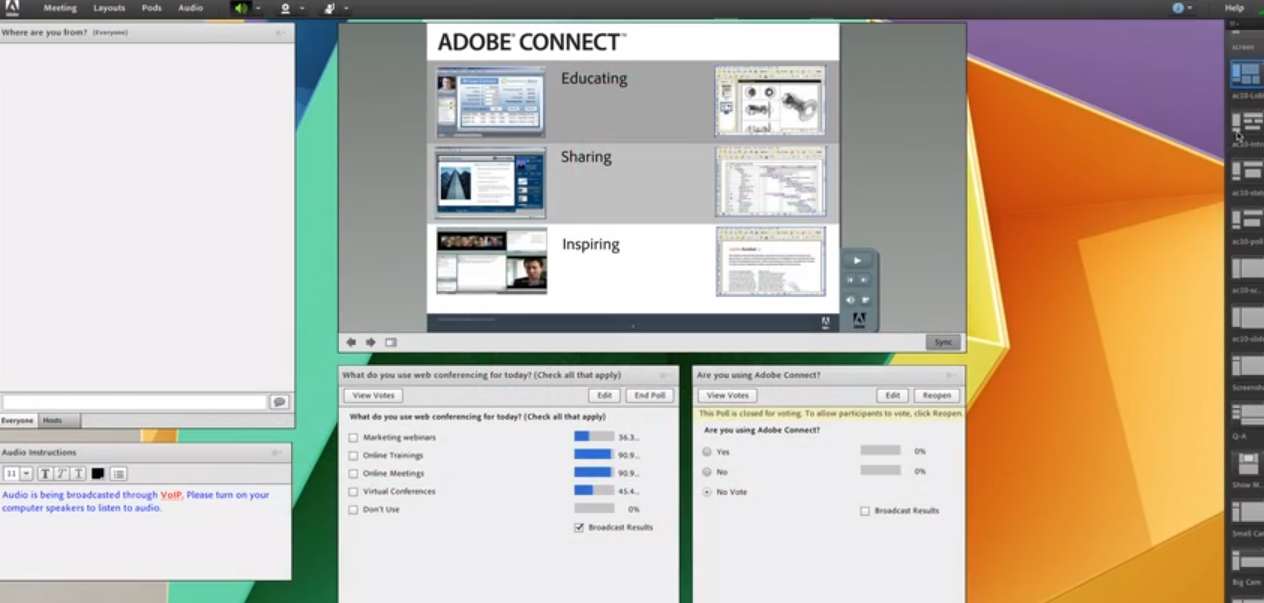 Adobe Connect Logiciel - 2
