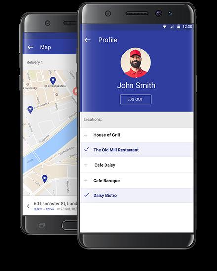 POSdriver smartphone app