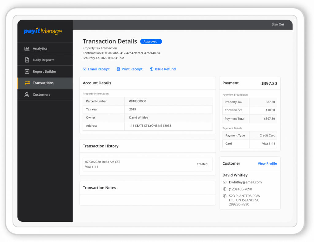 PayIt Manage - Admin Portal