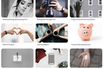 Captura de pantalla de Paperform: A range of form templates are offered for different purposes