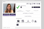 MotionSoft screenshot: Front desk check-in works with key-tags, card readers and RFID (radio-frequency identification)