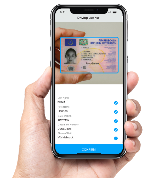 Anyline Software - Scan IDs