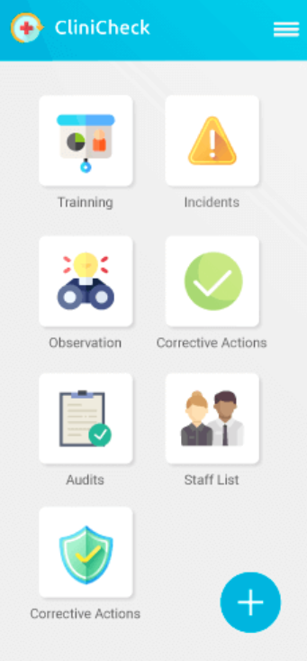 CliniCheck mobile application