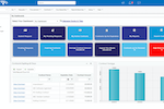Contract Insight screenshot: Contract Insight® User Dashboards for easy contract management.
