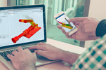 SimScale screenshot: Integration with cloud-based 3D CAD modeling software Onshape (www.onshape.com)