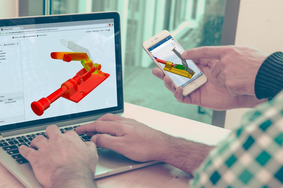 Integration with cloud-based 3D CAD modeling software Onshape (www.onshape.com)