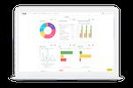 eSUB screenshot: Project Summary Dashboards