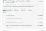 Captura de tela do Trakstar Performance Management: Add/Track Objectives and Tasks