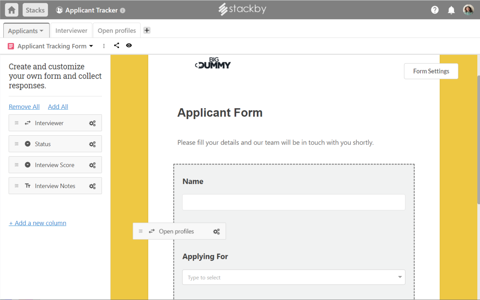 Stackby Software - 4