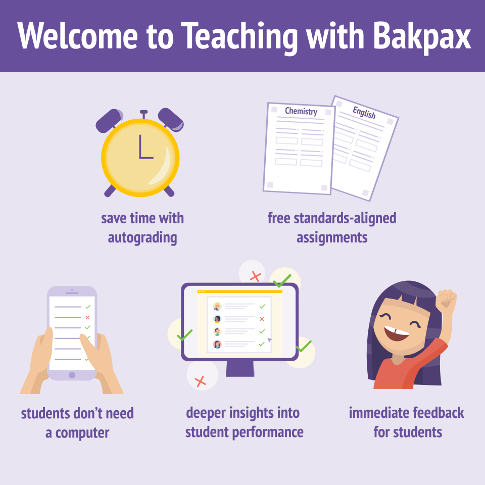 Teaching with Bakpax