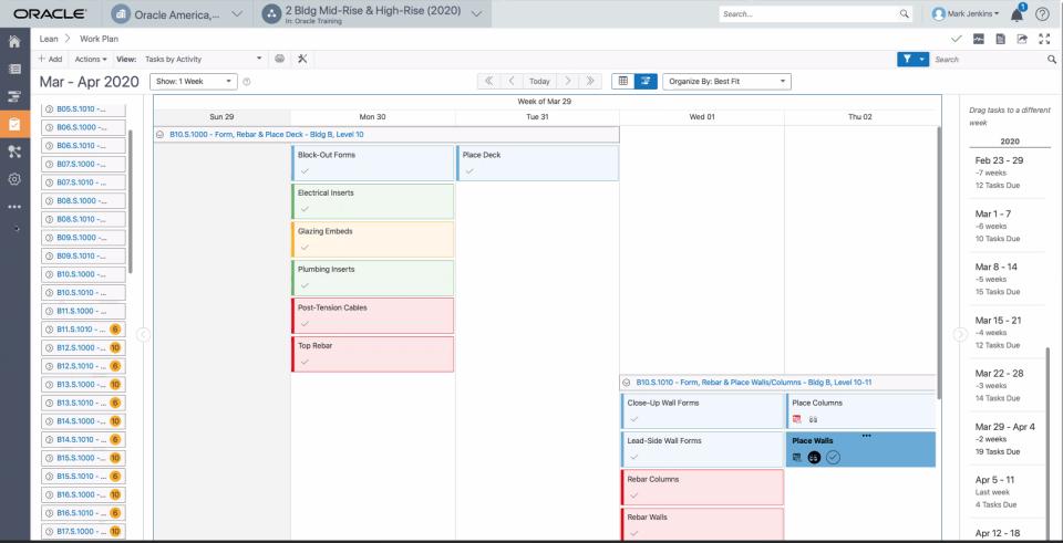 Oracle Primavera Cloud Logiciel - 5