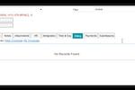 Captura de tela do Conrep: Add, edit, display or delete billing and invoicing information