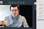 interviewstream screenshot: Live video interviewing