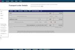 Alpega TMS screenshot: Transport Order Cost Details