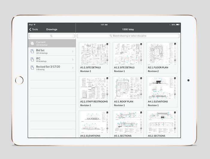 Procore Software - Procore drawings
