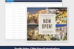 TopBuilder screenshot: TopBuilder email marketing campaigns