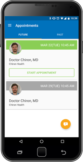 Mobile appointment scheduling