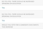 Ecanvasser screenshot: Capture rich data on voters or do simple polling