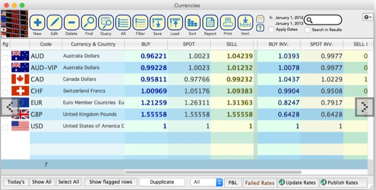 CurrencyXchanger screenshot: CurrencyXchanger automatic updates screenshot